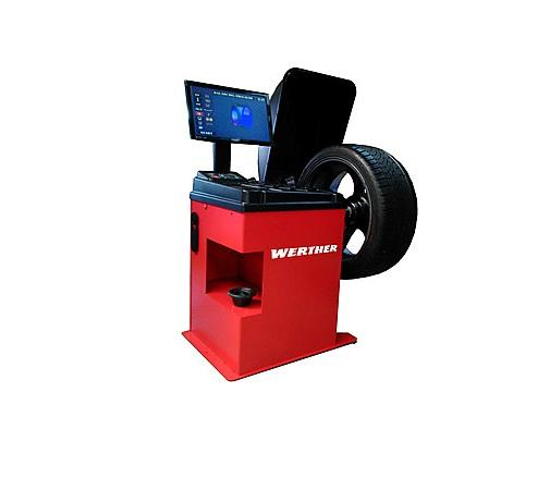 3D Wheel balancer for cars, motorcycles and light commercial vehicles
