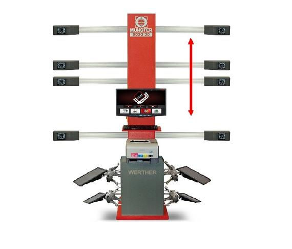 SEROS 9000 3D WHEEL ALIGNMENT