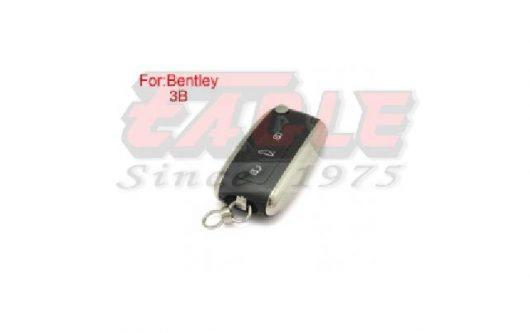 BENKS000130 Bentley 3 Button Flip Key Shell