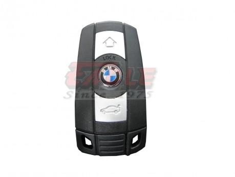 BMWSK000132 BMW 3/5/6 Series 3 Button Remote Slot Key 434mhz