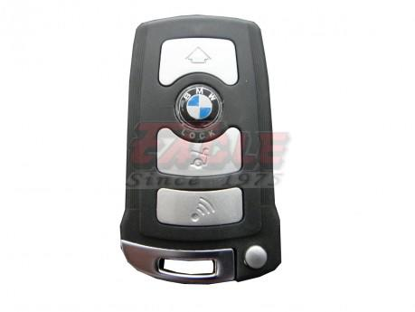 BMWSK000244 BMW 7 Series 4 Button Remote Slot Key 315mhz LP
