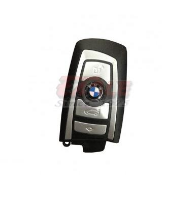 BMWSK000441 BMW F Series 2012 4 Button Remote Slot Key 315mhz (White) (Comfort access)