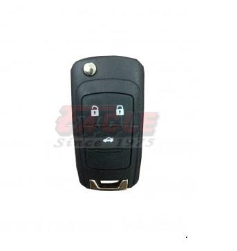 CHEFK000130 Chevrolet Cruze 3B Flip Key Case Only