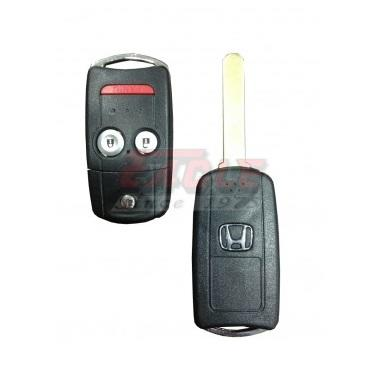 HONFK001121 Honda CRV 2B Genuine Flip Key with Panic Button