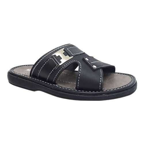NEWMEN - MEN SANDALS (MA 2202-BK) BLACK