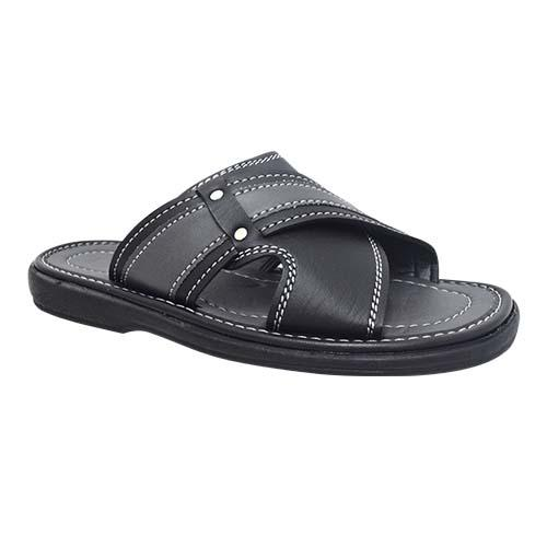 NEWMEN - MEN SANDALS (MA 2209-BK) BLACK