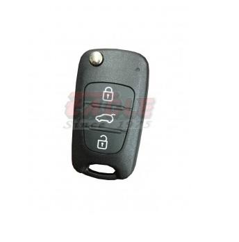 KIAFK000230 Kia 3 Button Flip Key Case Only