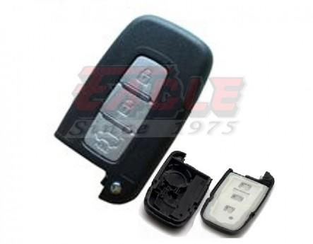 KIASK000130 Kia 3 Button Smart Remote Key Shell Only
