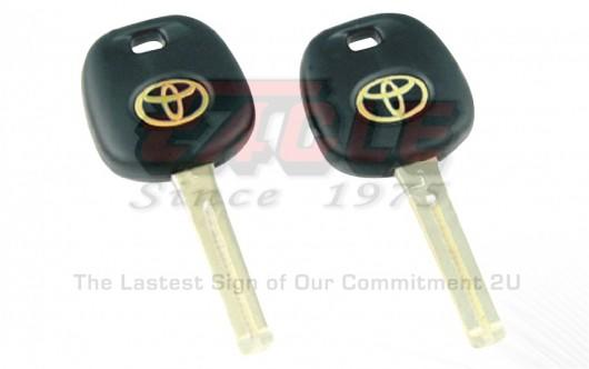 LEXTK000100 Lexus / Toyota Transponder Key Shell Chip Insertable TOY48