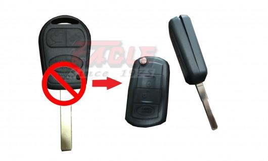 LROFK00132C Land Rover 3 Button Remote Convert Flip Key 433mhz