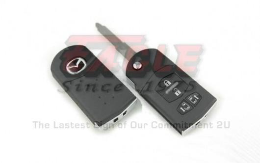 MAZFK000441 Mazda M5 Premacy 4 Button Remote Flip Key 315mhz