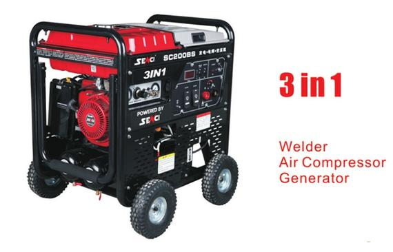 SENCI SC200BS 3 IN 1 & WELDER GENERATOR