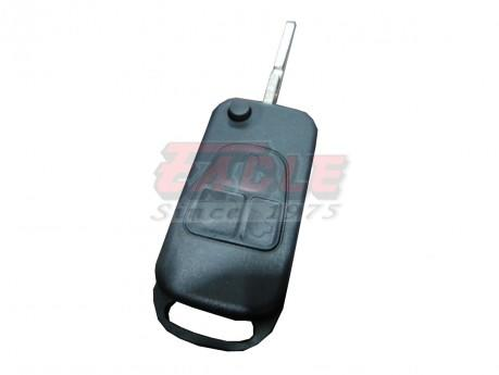 MBEKS000430 Mercedes Benz 3 Button DAS2 Flip Remote Shell Only