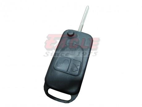 MBEKS000530 Mercedes Benz 3 Button DAS2 Flip Remote Shell Only