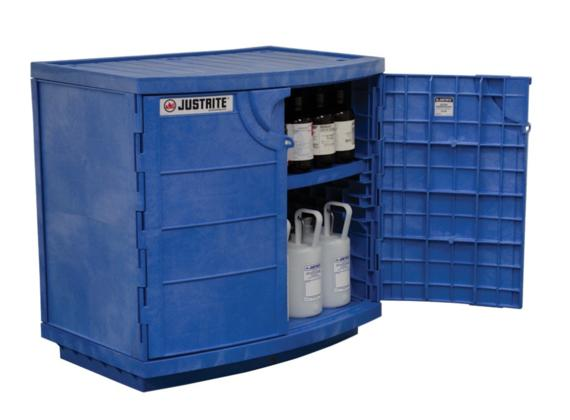 30Gallons Polyethylene Corrosives And Acid Cabinet