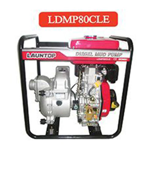 LAUNTOP Diesel Mud Pump - LDMP80CLE