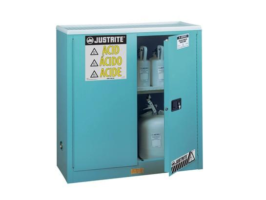 30Gallons Sure-Grip® EX Steel Classic Manual-Close Safety Cabinets for Corrosives