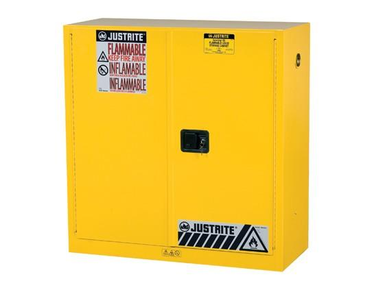 30Gallons Sure-Grip® EX Manual-Close Safety Cabinets for Flammables