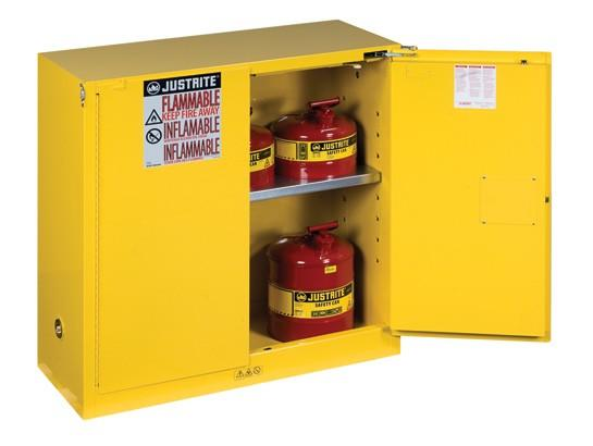 30Gallons Sure-Grip® EX Self-Close Safety Cabinets for Flammables