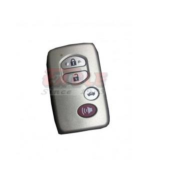 TOYKS000040 Toyota 4 Button Smart Key Shell