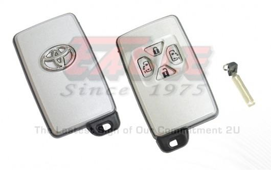 TOYKS001040 Toyota 4 Button Smart Key Shell