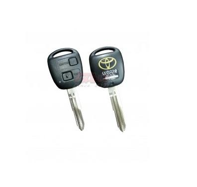 TOYKS001220 Toyota 2 Button Remote Key Shell TOY41