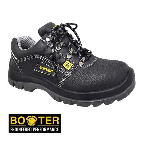 BOXTER - ROGERS SAFETY SHOE (BG BL71-BK) BLACK