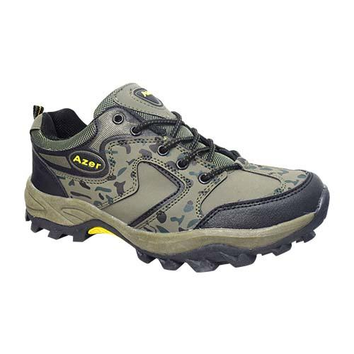 AZER - MILITARY STYLE HIKING SHOE (S 178-G) GREEN