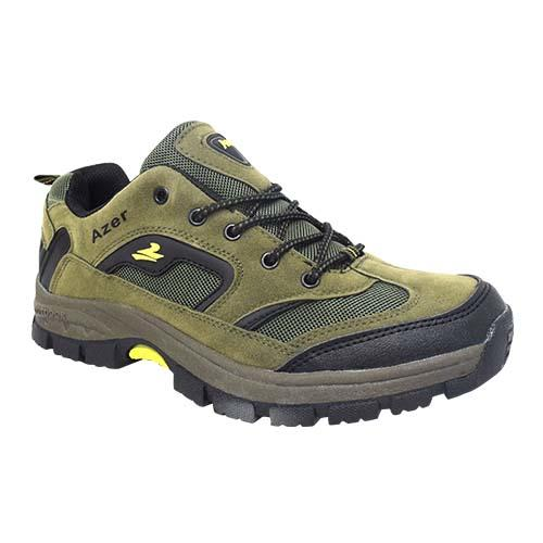 AZER - MEN'S STYLE HIKING SHOE (S 187-G) GREEN