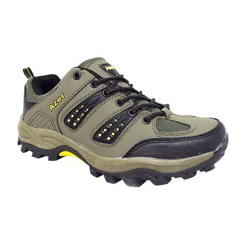 AZER - MEN'S STYLE HIKING SHOE (S 189-G) GREEN