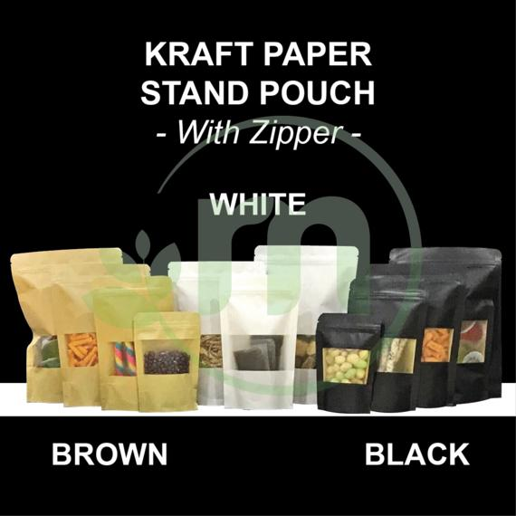 KRAFT PAPER STAND POUCH