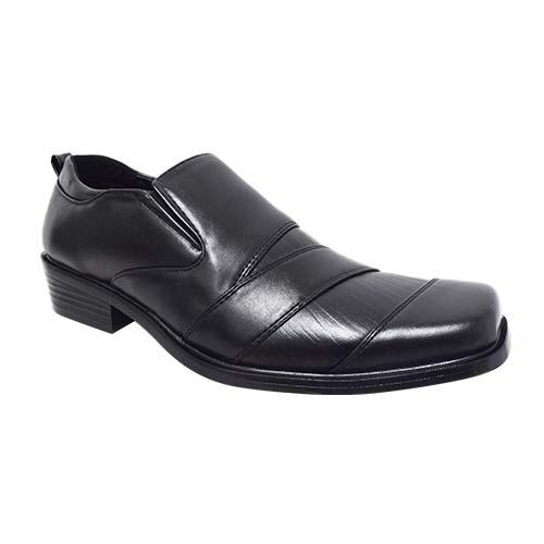 NEWMEN - MEN EXECUTIVE SHOE (MS 8011-BK) BLACK