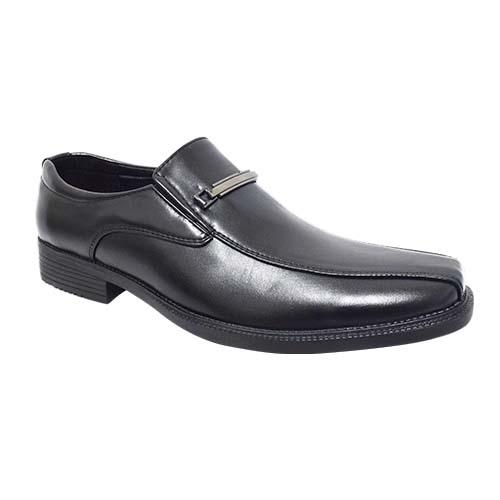 NEWMEN - MEN EXECUTIVE SHOE (MS 8112A-BK) BLACK