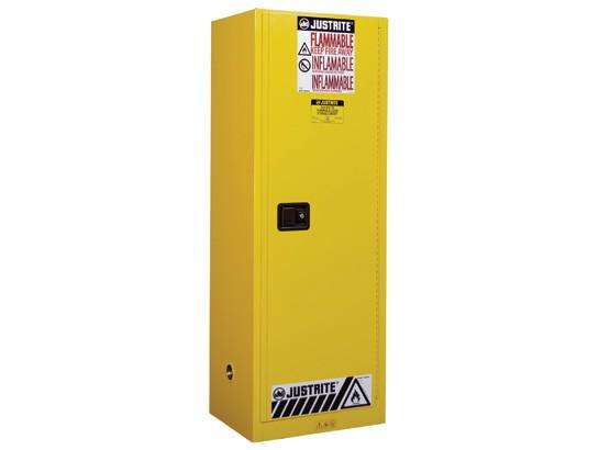 22Gallons Sure-Grip® EX Self-Close Slimline Safety Cabinet for Flammables