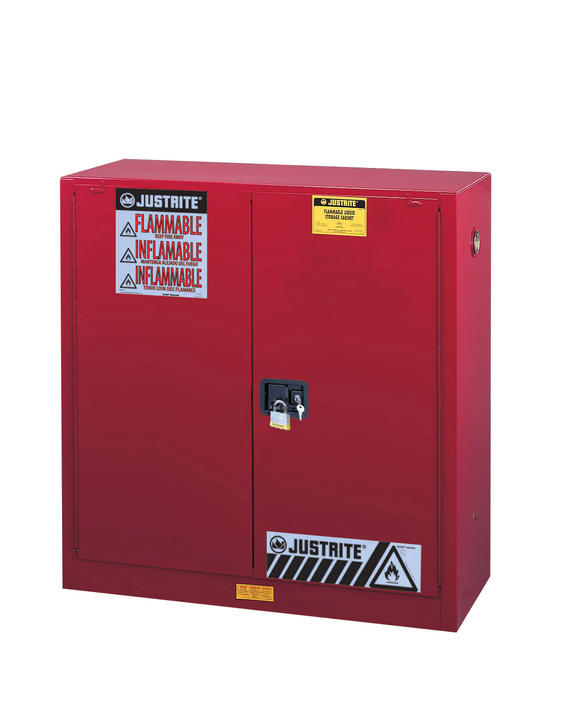 40Gallons Sure-Grip® EX Manual-Close Safety Cabinet for Combustibles