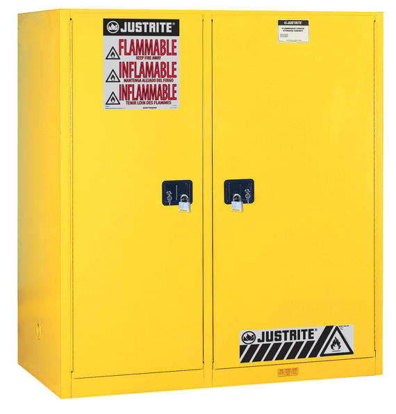 115Gallons Sure-Grip® EX Double-Duty Manual-Close Safety Cabinet for Combustibles