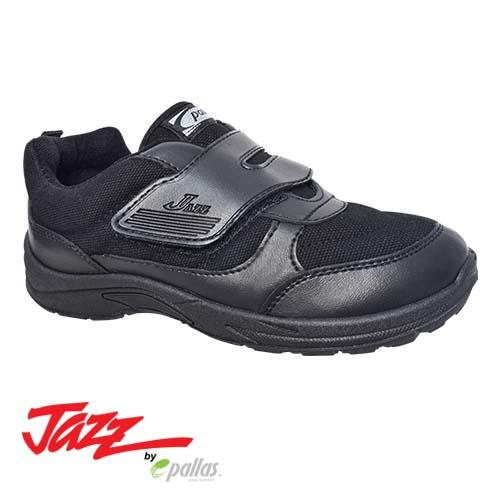PALLAS JAZZ SINGLE VELCRO STRAP SHOE 205-0164 | 307-0164 BLACK