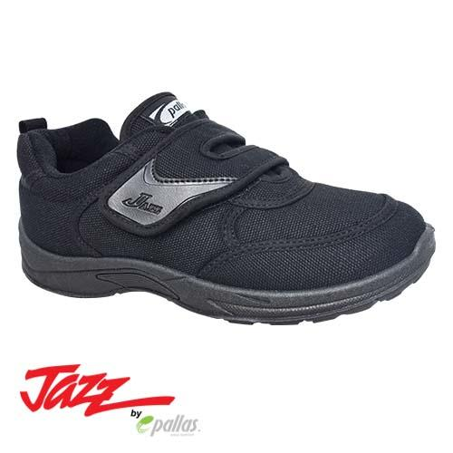 PALLAS JAZZ SINGLE VELCRO STRAP SHOE 202-0165 BK | 205-0165 BK | 307-0165 BK