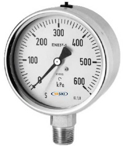 YASIKI All Stainless-Steel Pressure Gauge
