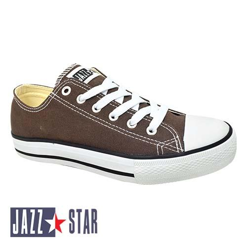 PALLAS JAZZ STAR LOW CUT SHOE LACE (407-096 BN) BROWN