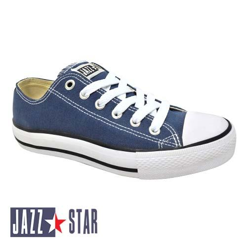 PALLAS JAZZ STAR LOW CUT SHOE LACE (407-096 NB) NAVY BLUE