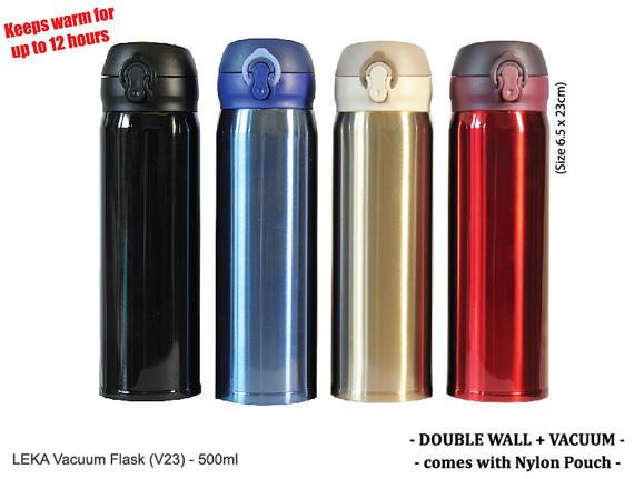 NEW! Leka Vacuum Flask