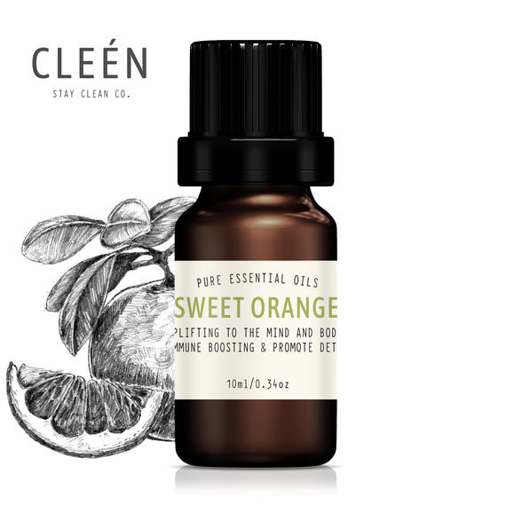 CLEEN Sweet Orange Pure Essential Oils