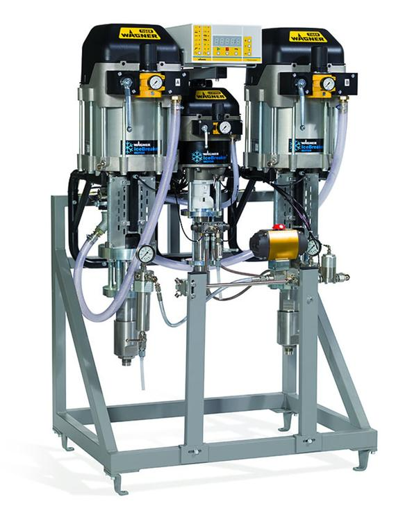 TwinControl 72-300 Electronic mixing and dosing system
