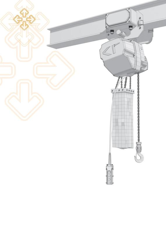 KT Electric C - SERIES Chain Hoist