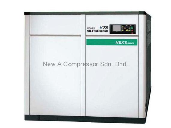 Hitachi Oil-Free DSP Screw Compressor