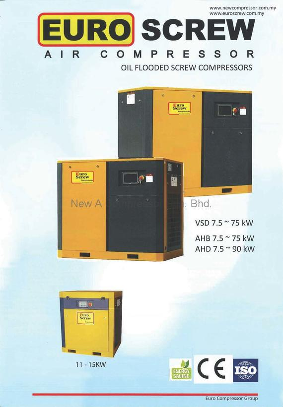 Euro Screw Air Compressor (Red Line)