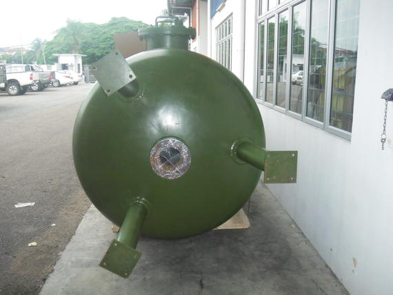 Vacuum Dryer Tank