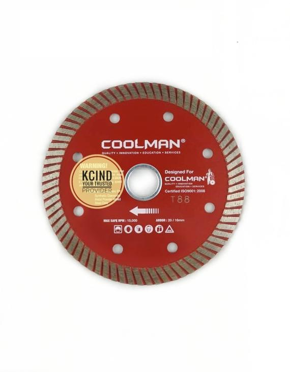 "Coolman T88 4"" (100mm) Cutting Blade"