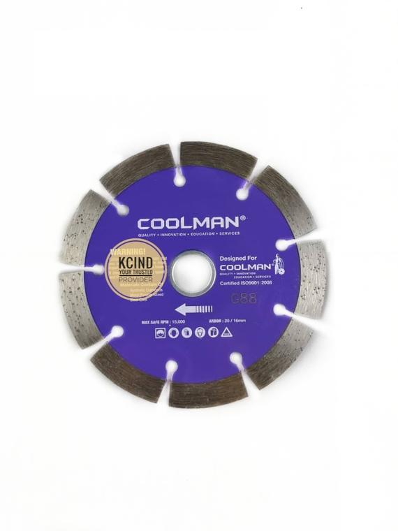 "Coolman G88 4"" (100mm) Cutting Blade"